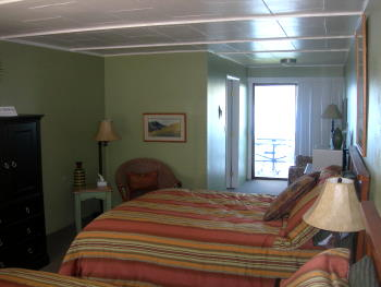 more Beautifully renovated, comfortable rooms for your stay at LakeView Lodge in historical Harrison Idaho