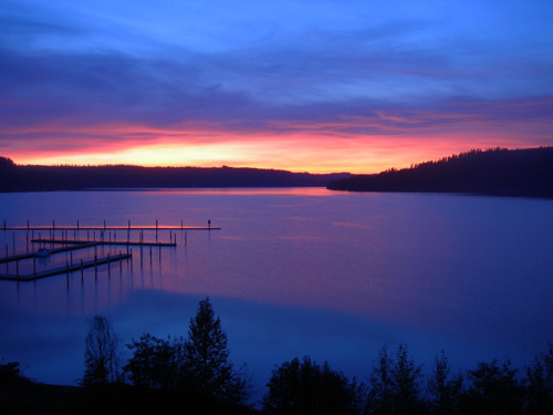 Enjoy the Lakeview Lodge in beautiful Harrison Idaho